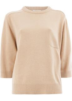 Chloé short-sleeve shift sweater