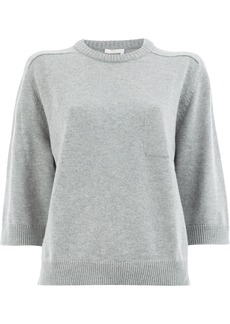 Chloé short-sleeve shift sweater