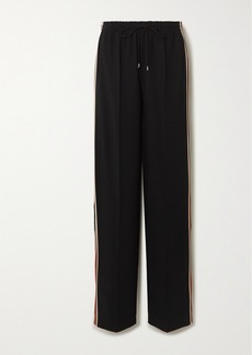 Chloé Signature Striped Stretch-jersey Track Pants