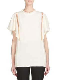 Chloé Silk Georgette Blouse