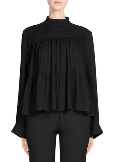 Chloé Silk Mousseline Blouse