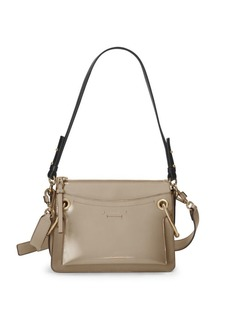 Chloé Small Roy Gusset Grained Leather Bag
