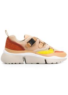 Chloé Sonnie colour-block sneakers
