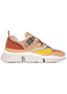 Chloé Sonnie colour block sneakers