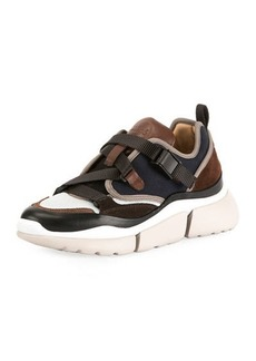 Chloé Sonnie Multicolor Buckle Sneakers