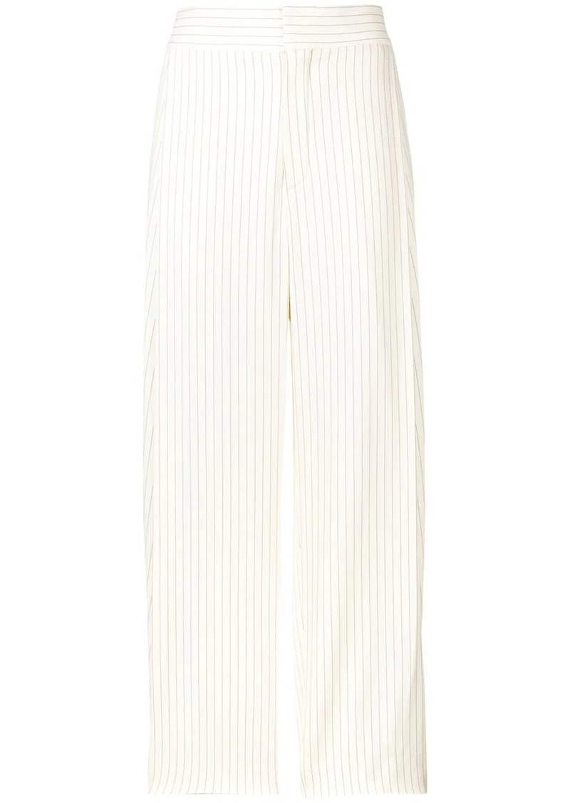 Chloé striped tailored trousers
