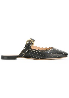 Chloé studded Lauren slip-on mules