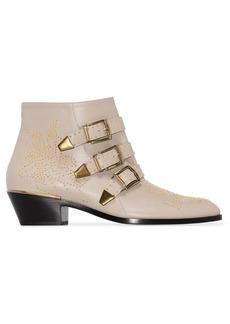 Chloé Susanna 30mm studded ankle boots