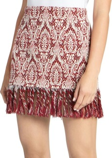 Chloé Textured Jacquard Mini Skirt