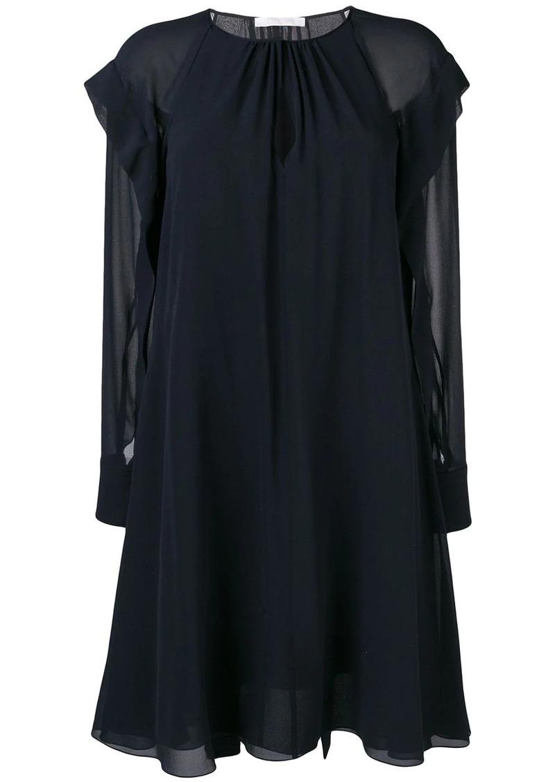 Chloé tie waist dress