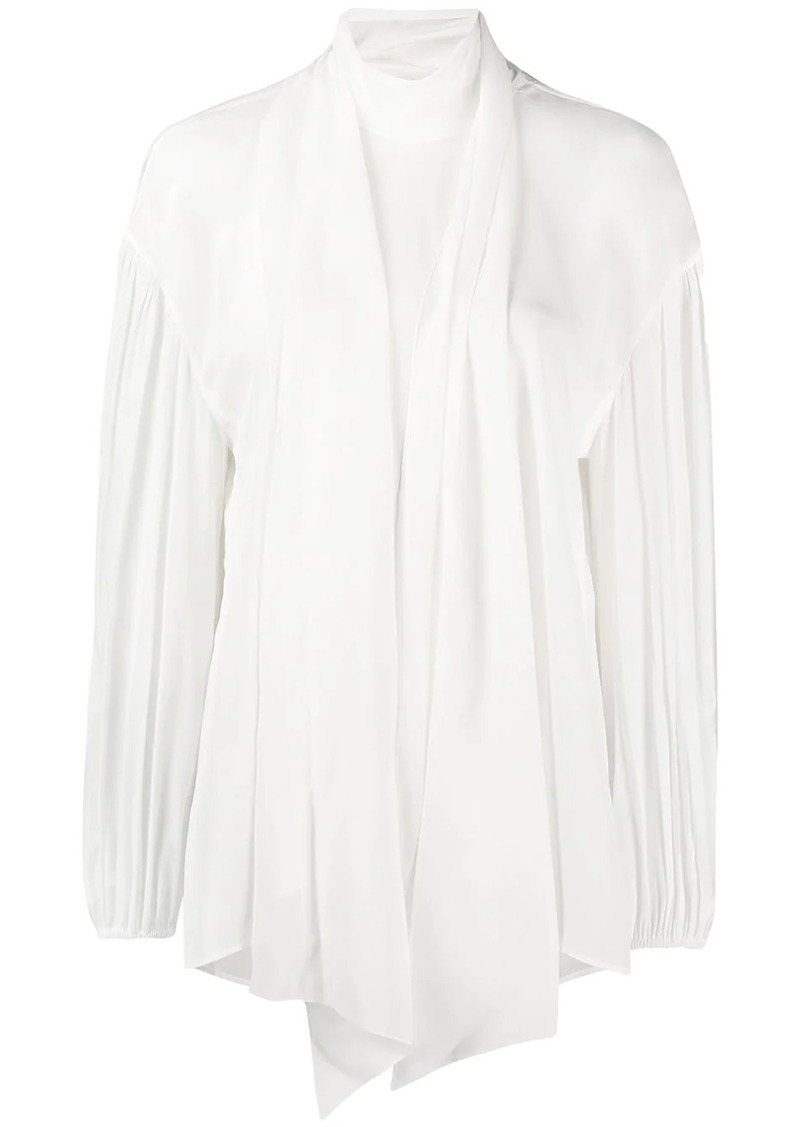 Chloé tied neck blouse