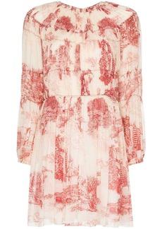 Chloé Toile de Jouey print mini dress