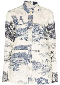 Chloé Toile de Jouy print shirt