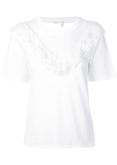 Chloé transparent V-neck T-shirt