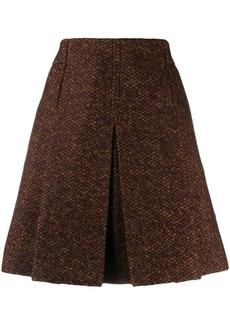 Chloé tweed mini skirt