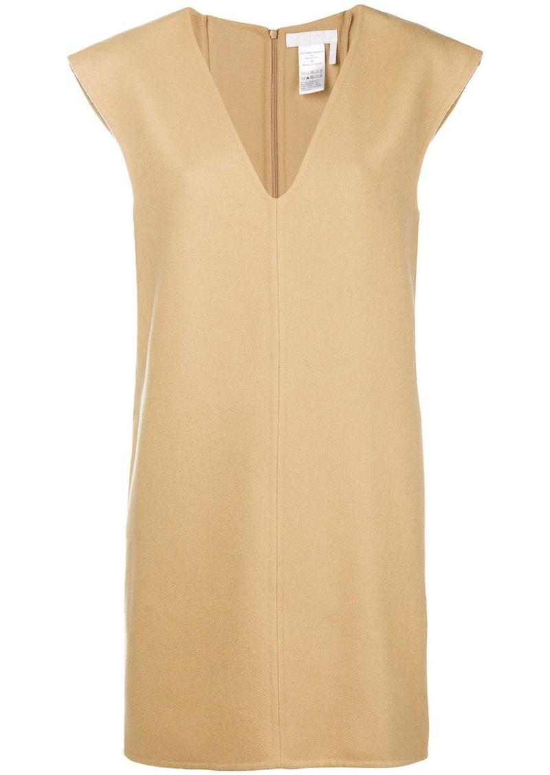 Chloé V-neck shift dress