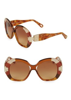 Chloé Venus 54MM Round Sunglasses