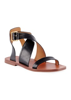 Chloé Virginia Flat Strappy Sandals