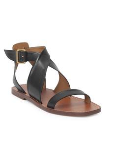 Chloé Virginia Leather Flat Sandals