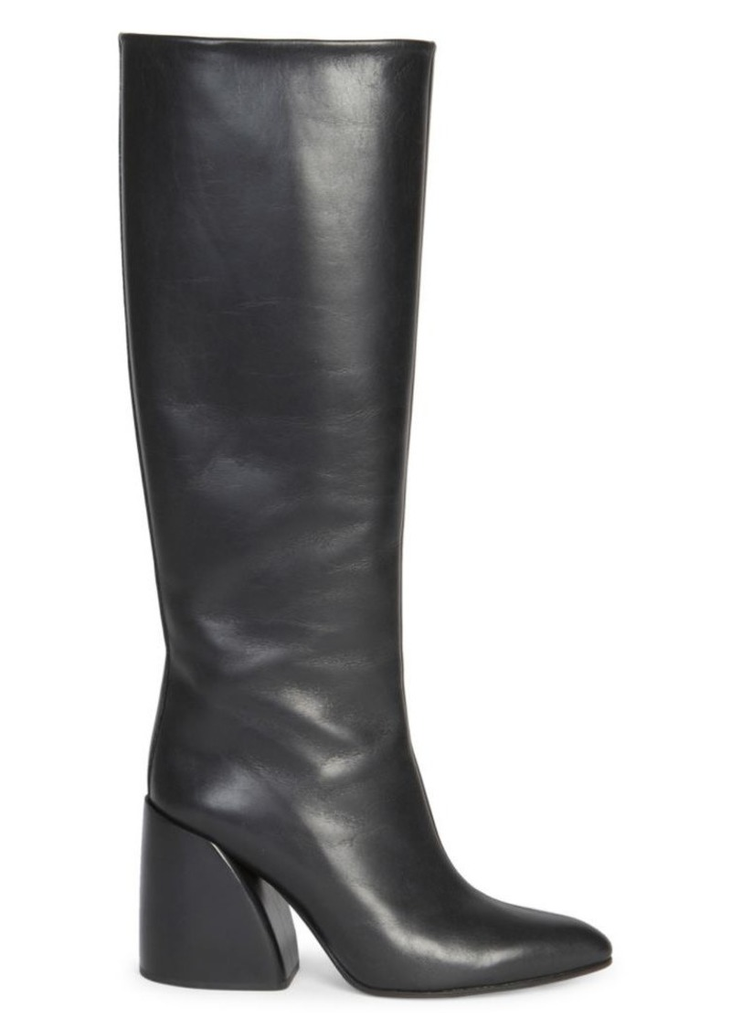 Chloé Wave Leather Tall Boots