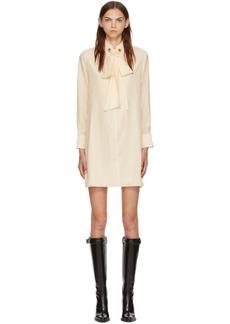 Chloé White Silk Dress
