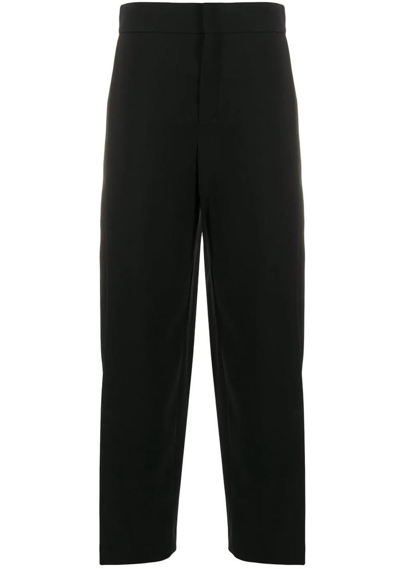 Chloé wide-leg cropped trousers