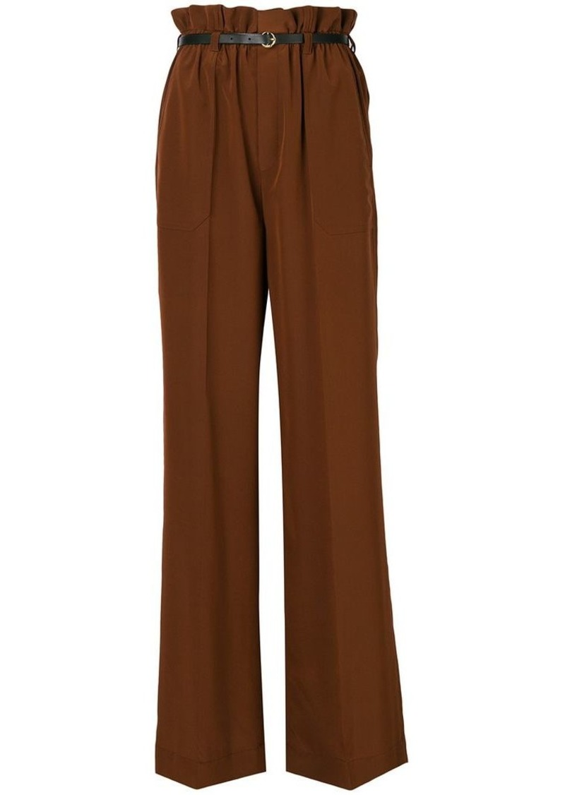 Chloé wide leg high-waisted trousers