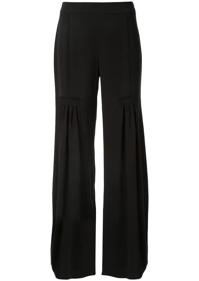 Chloé wide leg pleated trousers