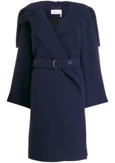 Chloé wrap-front belted coat