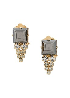 Christian Dior 1978 archive embellished drop earrings