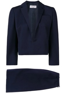 Christian Dior 1984 straight skirt suit