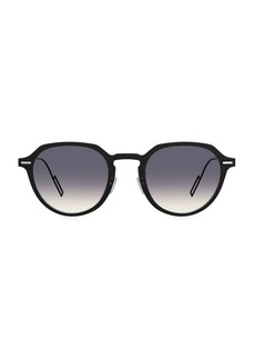 Christian Dior DiorDisappear1 49MM Round Sunglasses