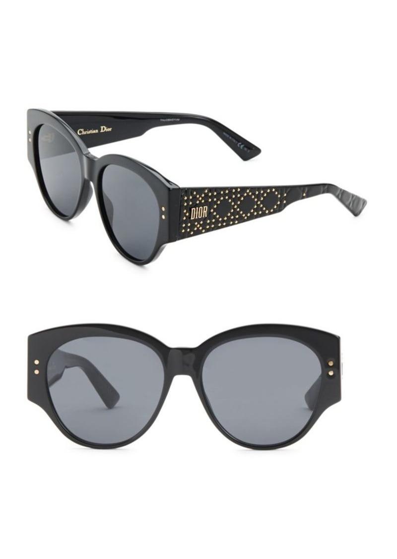 b3f4e9424f0 Christian Dior 54MM Lady Dior Studded Sunglasses