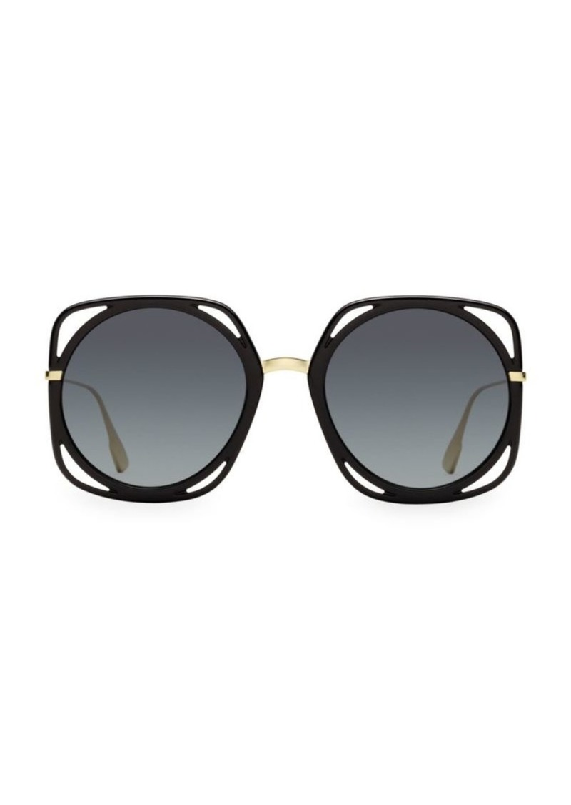Christian Dior 56MM Direction Round Sunglasses