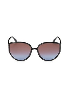Christian Dior 58MM Geometric Sunglasses