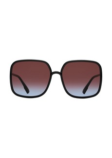 Christian Dior 59MM Square Sunglasses