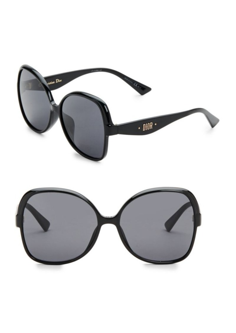 5845d84386 Christian Dior 60MM Nuance Square Sunglasses