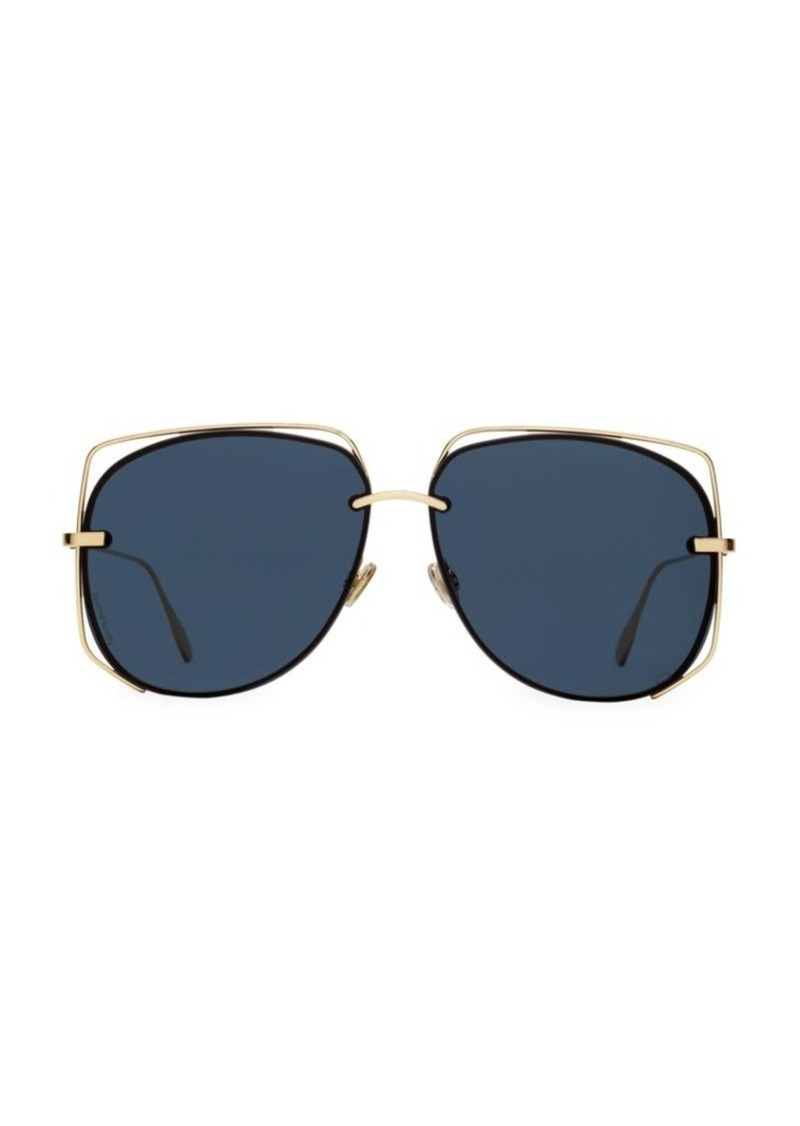 361db48d3 Christian Dior 61MM Stellair Wire Aviator Sunglasses | Sunglasses