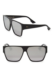 Christian Dior 62MM Diorhit Flat Top Sunglasses