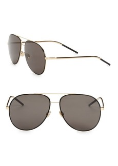 Christian Dior Astral 59MM Aviator Sunglasses