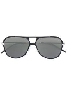 Christian Dior aviator frame sunglasses