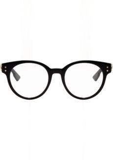 Christian Dior Black Round Acetate DiorCD3 Glasses
