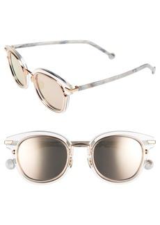 Christian Dior 48mm Round Sunglasses