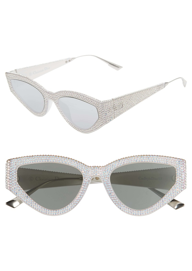 Christian Dior 52mm Cat Eye Sunglasses