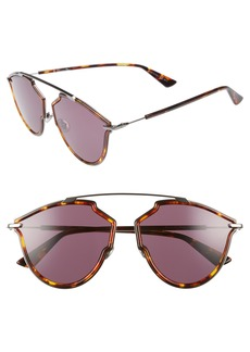 Christian Dior 58mm Round Sunglasses