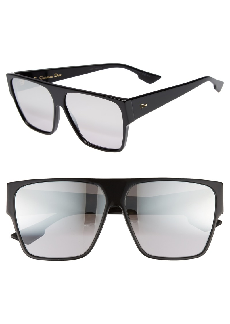 5ff0fd4564 Christian Dior Dior 62mm Flat Top Square Sunglasses