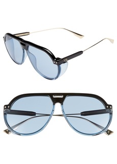 Dior DiorClub3S 61mm Pilot Sunglasses