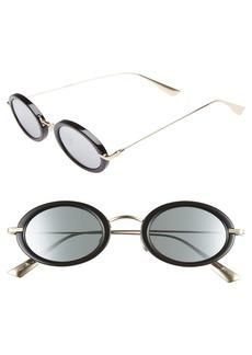 Christian Dior Hypnotic2 46mm Round Sunglasses