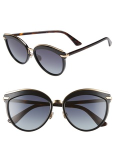 Christian Dior Offset 2 55mm Sunglasses