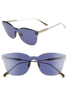 Christian Dior Quake2 135mm Rimless Shield Sunglasses